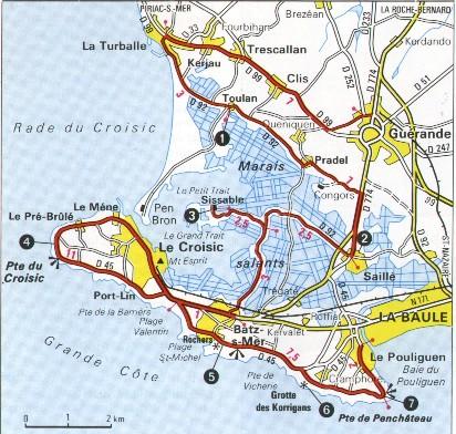Urlaub In France   Cartes géographiques