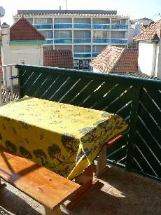 Balkon auf Lacanau