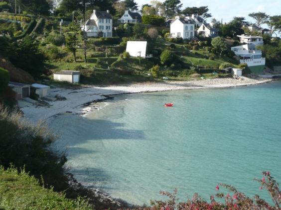 Strand von Saint Pabu -Finistere-Bretagne