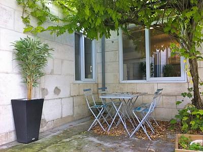 Patio - Ferienhaus in La Rochelle