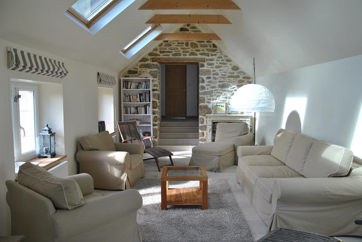 zu mieten ferienhaus mit charme direkt am meer finis re bretagne. Black Bedroom Furniture Sets. Home Design Ideas