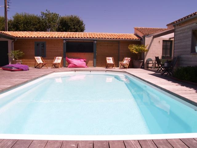 A louer villa d 39 exception avec piscine la rochelle for Piscine la rochelle