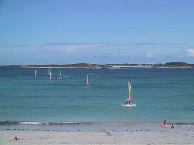 Traumhafter Strand in Saint Pabu-Finistere-Bretagne