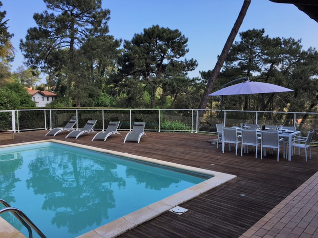 Villa mit pool in Hossegor