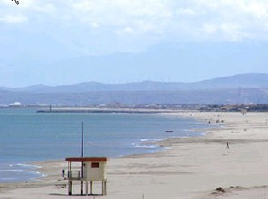 Strand im Languedoc