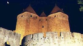 Carcassonne und Kanal des Südens
