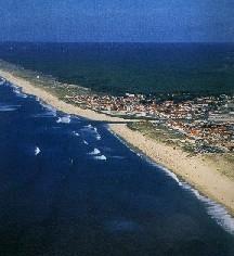 Strand in Mimizan
